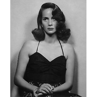 Alida Valli Late 1940S Photo Print