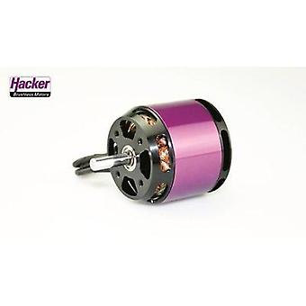 Model aircraft brushless motor Hacker A40-14S V4 14-Pole kV (RPM per volt): 530 Turns: 14