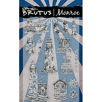 Brutus Monroe Clear Stamps 4X6-Sand Dune BRU2241