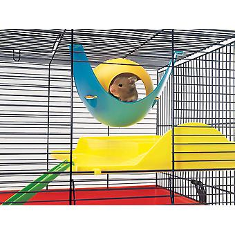 Casa de Hamster de Sputnik surtidos colores 21.5x21.5x12.5cm