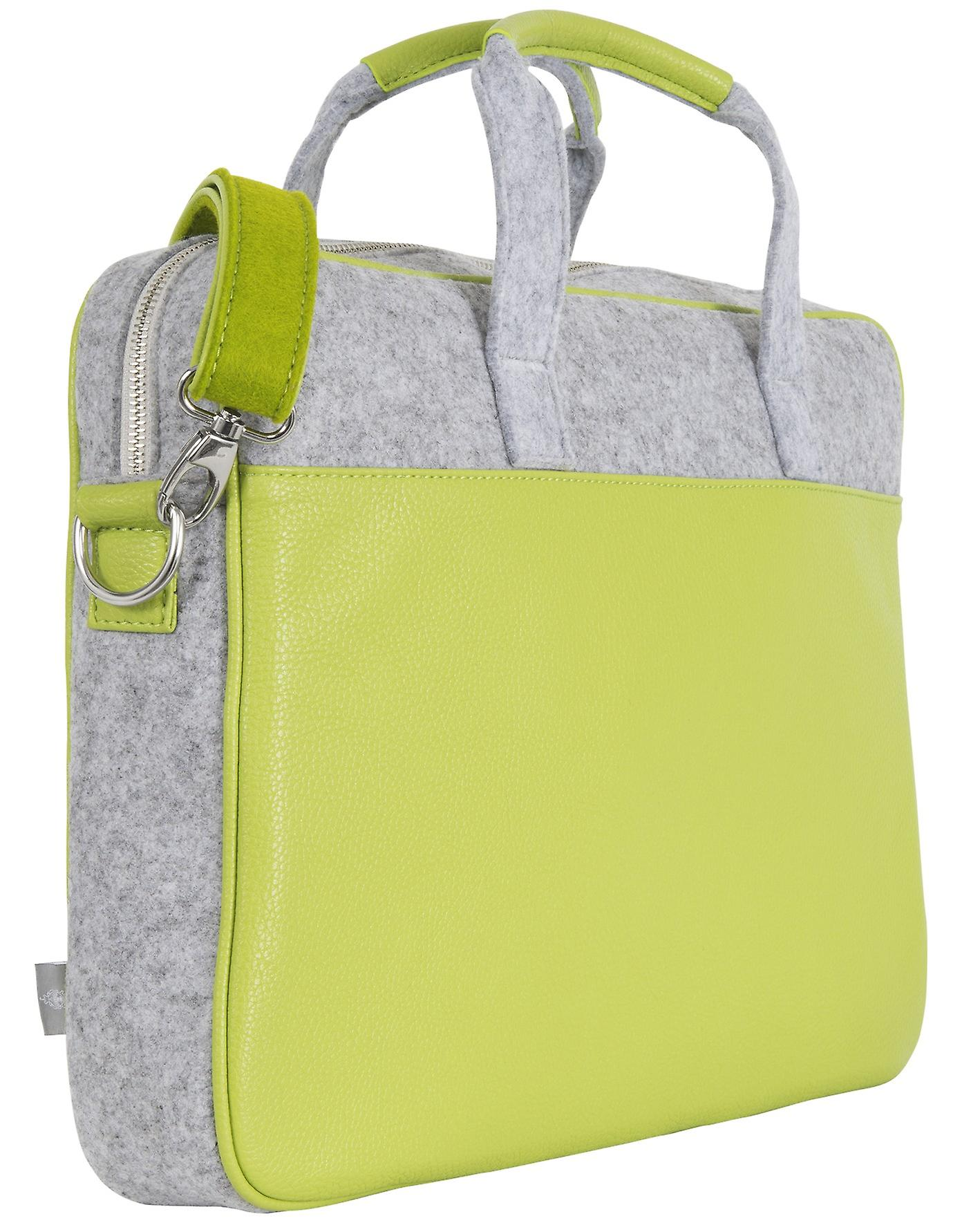 Burgmeister ladies/gents laptop bag  felt, TBM3028-468