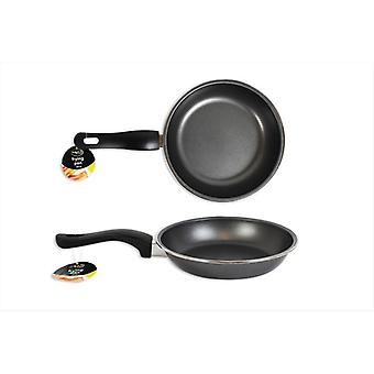 Frying Pan Non-Stick Grey Carbon Steel 26cm Perfect for Kitchen Use