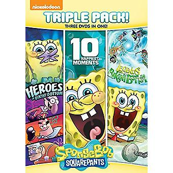 Spongebob Squarepants Triple [DVD] USA import