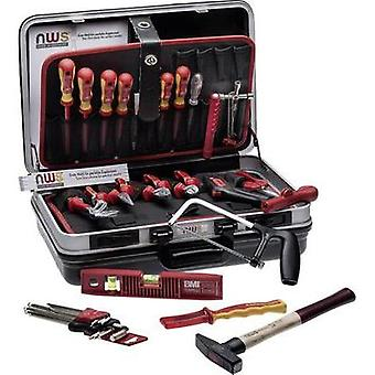 Electrical contractors Tool box (+ tools) 24-piece NWS 321K-24 (L x W x H) 470 x 360 x 180 mm