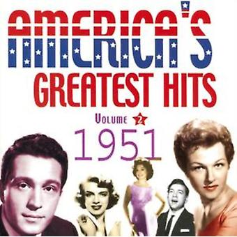 America's Greatest Hits Vol 2: 1951 by Various Artists