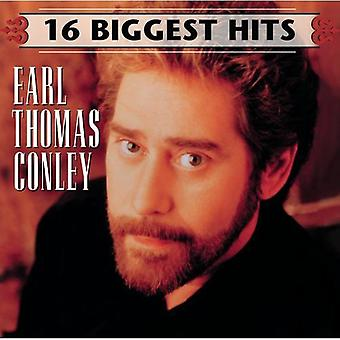 Earl Thomas Conley - 16 Biggest Hits [CD] USA import