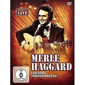 Merle Haggard - land forestillinger [DVD] USA importerer