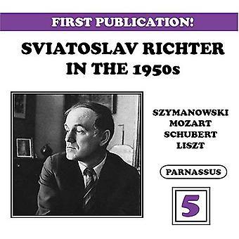 Sviatoslav Richter - Sviatoslav Richter i 1950 ' erne, Vol. 5 [CD] USA importerer