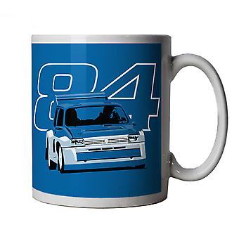 6R4 84,  Classic Rally Car Mug