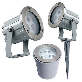LED Robus Trinity 3 i 1 LED Spotlight Spike / vägg Spotlight / Ground ljus