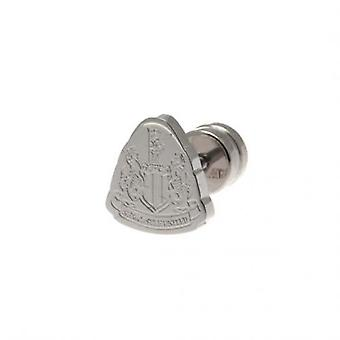 Newcastle United Cut Out Stud Earring