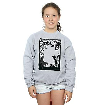 Disney Girls The Jungle Book Silhouette Poster Sweatshirt