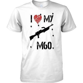 Ich liebe meine M60 - Infanterie Truppen Maschinengewehr - Kinder T Shirt