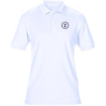 Mossad Seal - Isreali Intelligence Spy Embroidered Logo - Mens Polo Shirt