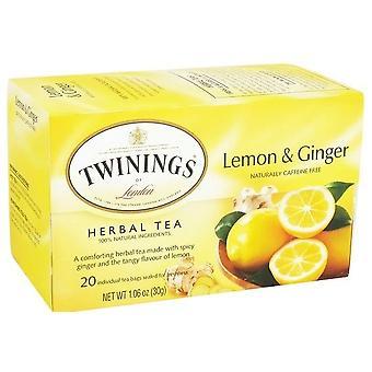 Twinings von London Zitrone & Kräutertee Ingwer