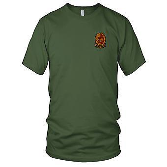 USMC Marines Air Support VMA-211 Wake Island Avengers - Vietnam War Embroidered Patch - Mens T Shirt