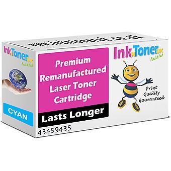Prämie für OKI 43459435 Cyan Toner Cartridge (43459435) Remanufactured