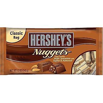 Hershey's Nuggets mjölk choklad med Toffee & mandel Candy