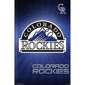 Colorado Rockies - Logo 16 Poster Poster afdrukken
