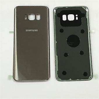 S8 de Samsung más atrás – batería cubierta-oro-calidad original