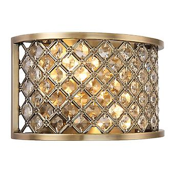 Hudson Indoor Wall Light - Endon 70559