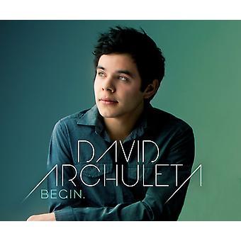 David Archuleta - Begin [CD] USA import