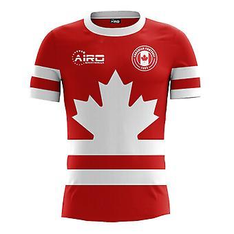 2018-2019 كندا مفهوم الوطن لكرة القدم قميص (الأطفال)