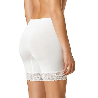 Mey 88210-1 Women's Lights White Solid Colour French Knickers