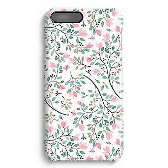 iPhone 7 Plus Full Print-Fall - zierliche Blumen