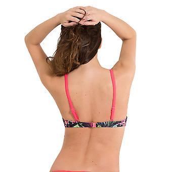 LingaDore 2908BT-144 Women's Adventure Multicolour Tropical Underwired Swimwear Beachwear Bikini Top
