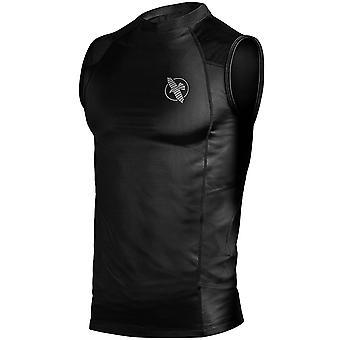 Hayabusa ligera temperatura regulación de compresión sin mangas de la camisa - negro