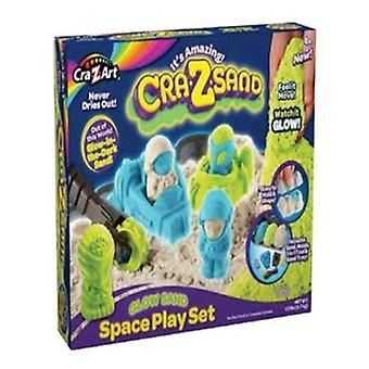 CRA-Z-Art Crazsand gra Glow w Dark Playset