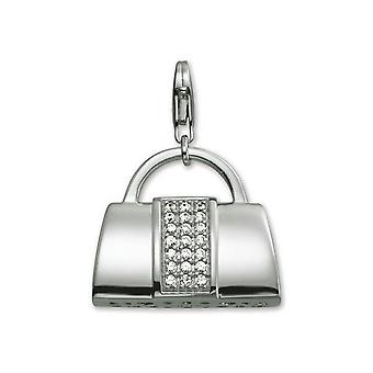 ESPRIT pendant of charms silver glamour bag XL ESZZ90542A000