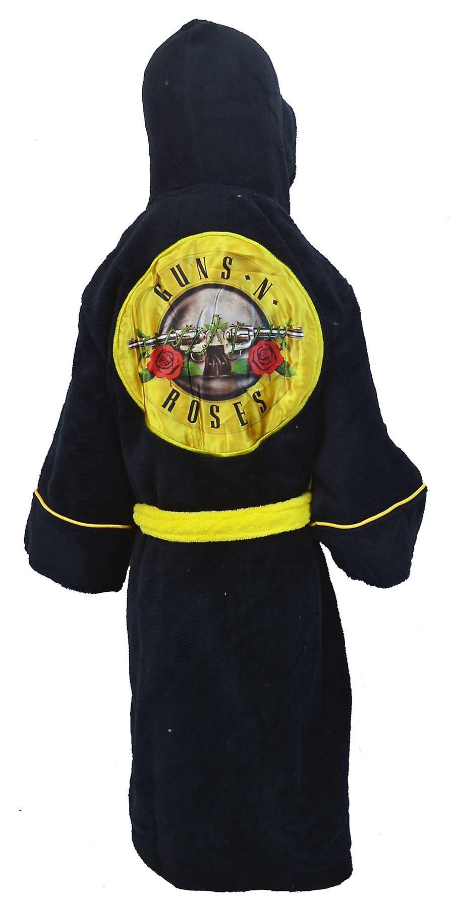 Guns and Roses Kids Dressing Gown / Bathrobe (boys girls children's child' robe) - Medium