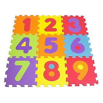 Tatamiz Numbers Foam Mat Puzzle 9 Pieces (TTMZ003)