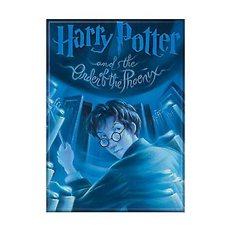 Harry Potter Order Of The Phoenix Book Cover Art Magnet