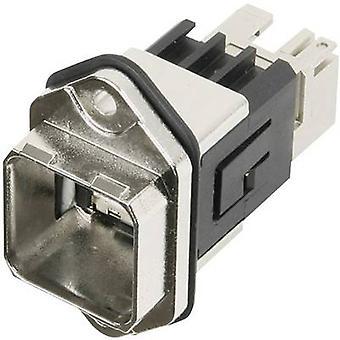 Brida de RJ45 establece versión 14 conector, montaje número de pernos: 8P8C J80020A0010 Metal Telegärtner J80020A0010 1 PC