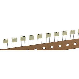 Kemet R82EC1100DQ50K+ 1 pc(s) PET capacitor Radial lead 1 nF 100 V 10 % 5 mm (L x W x H) 7.2 x 2.5 mm x 6.5 mm