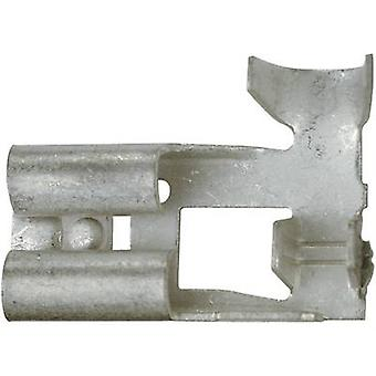 Receptáculo de hoja ancho conector: 6,3 mm conector espesor: 0,8 mm