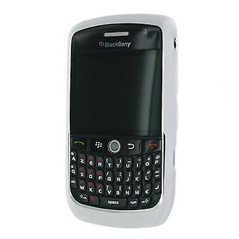Blackberry Rubberized Skin Case for Blackberry 8900 (White)