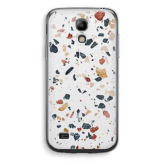 Samsung Galaxy S4 Mini Transparent Case - Terrazzo N°4