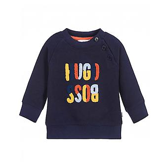 BOSS Kids Towelling Logo Sweat