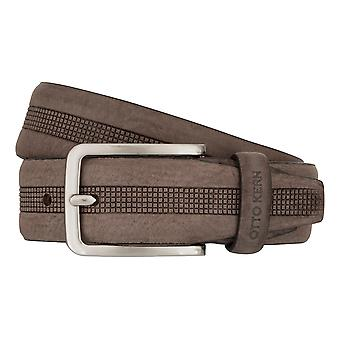 OTTO KERN belts men's belts leather belt Brown 7481