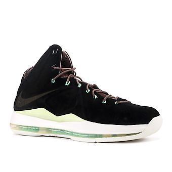 Lebron 10 Ext Qs 'Black Suede' - 607078-001 - Shoes