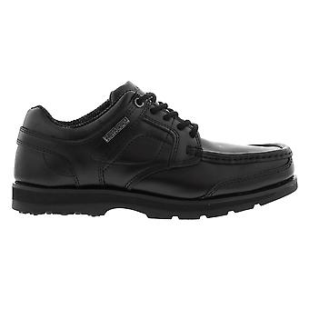 Kangol Kids Harrow Lace Up Junior Shoes School Padded Tongue Ankle Collar