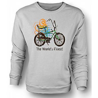 Sudadera para hombre Chopper bicicleta - del mundo más fino - divertido diseño gráfico