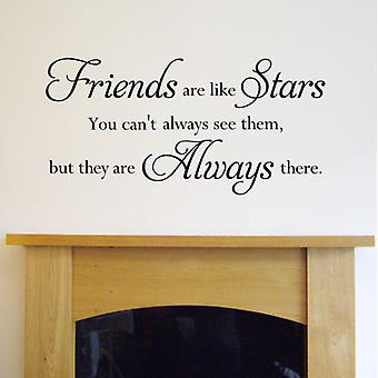 Wall Quote Sticker - Friends