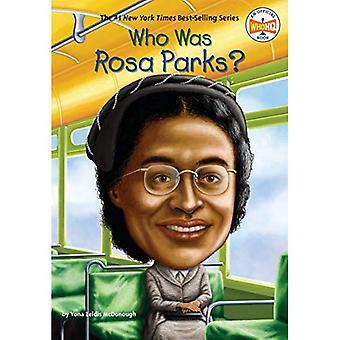 Vem var Rosa Parks?