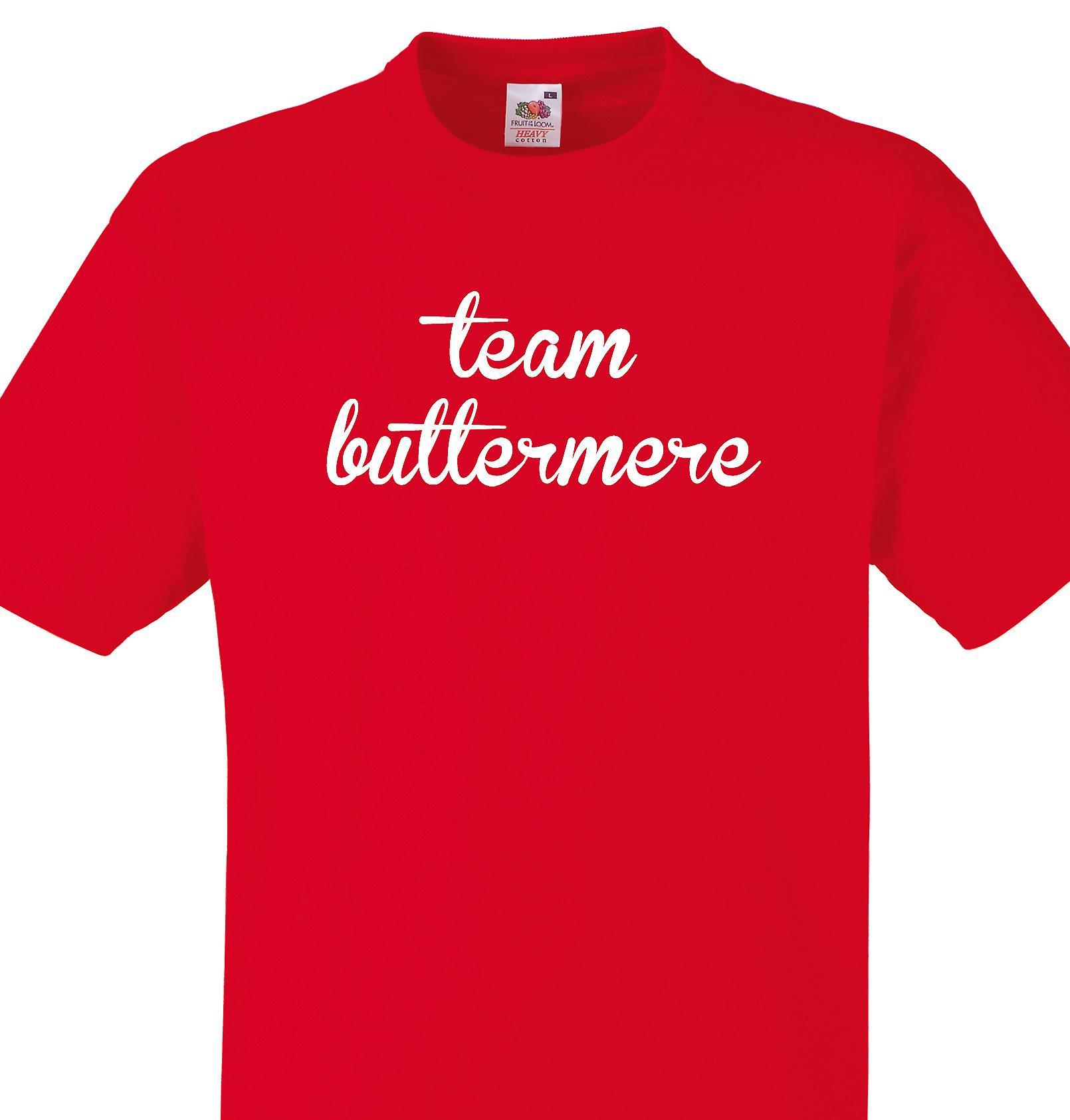 Team Buttermere Red T shirt