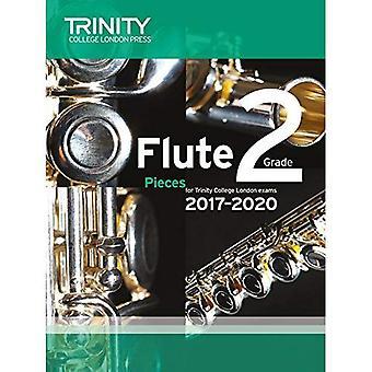 Trinity College London: Flute Exam Pieces Grade 2 2017 to 2020 (score & part)